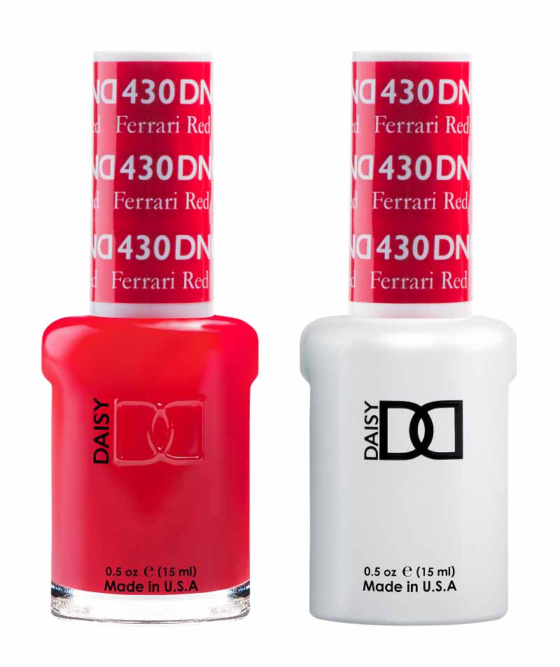 Dnd Ferrari Red 430 Hollywood Nails Supply Uk