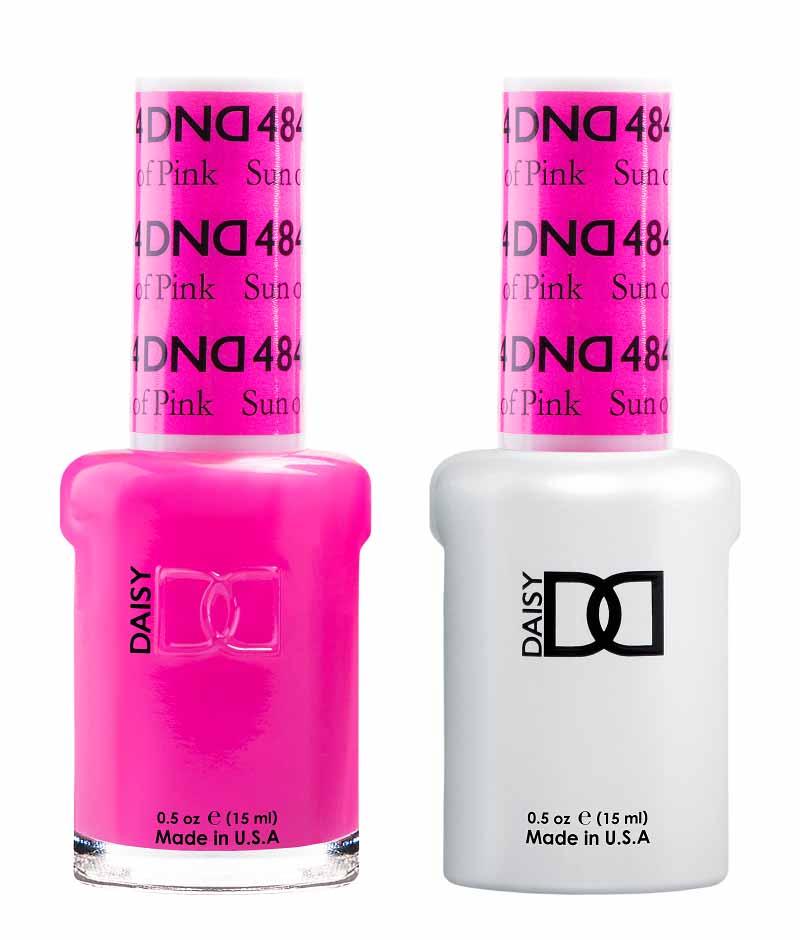 Dnd Sun Of Pink 484 Hollywood Nails Supply Uk