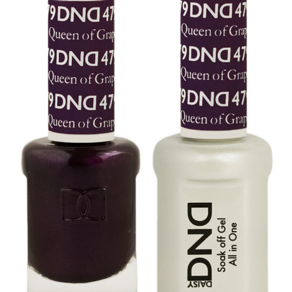 Dnd Queen Of Grape 479 Hollywood Nails Supply Uk