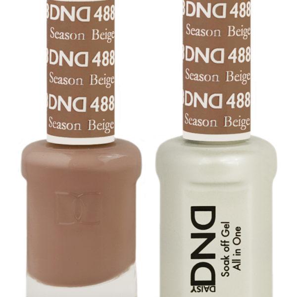 Dnd Seasond Beige 488 Hollywood Nails Supply Uk