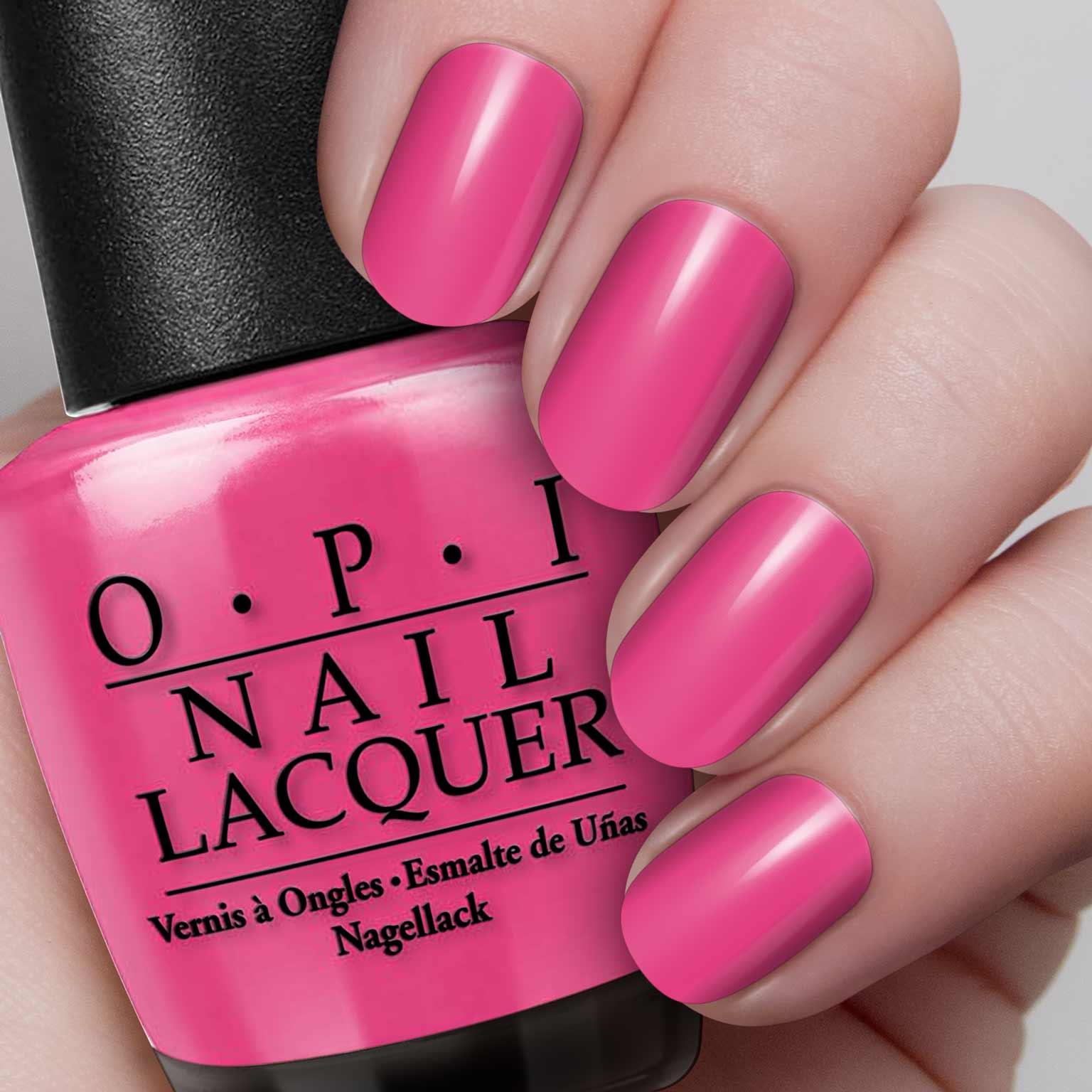 OPI Nail Polish – Senorita Rose-alita – Hollywood Nails Supply UK
