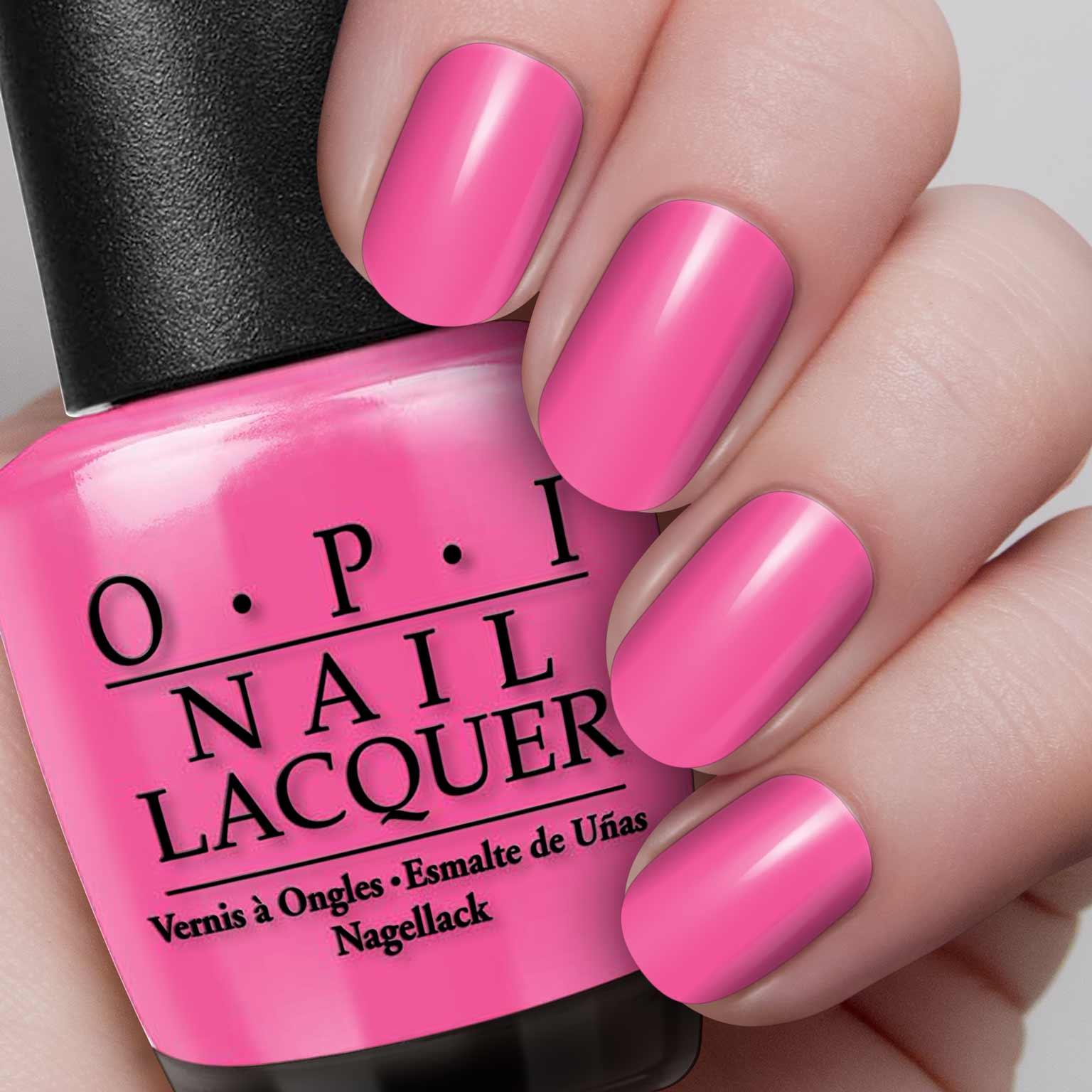 OPI Nail Polish – That\'s Hot! Pink – Hollywood Nails Supply UK
