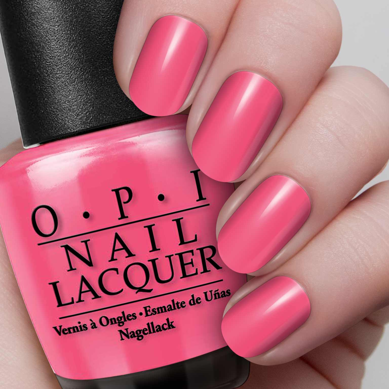 opi nail polish – feelin' hot-hot-hot! – hollywood nails supply uk