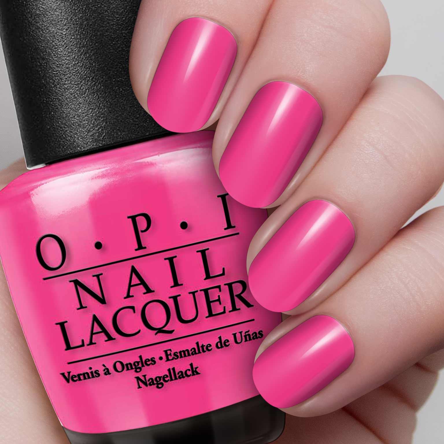 Opi Nail Polish Pink Flamenco