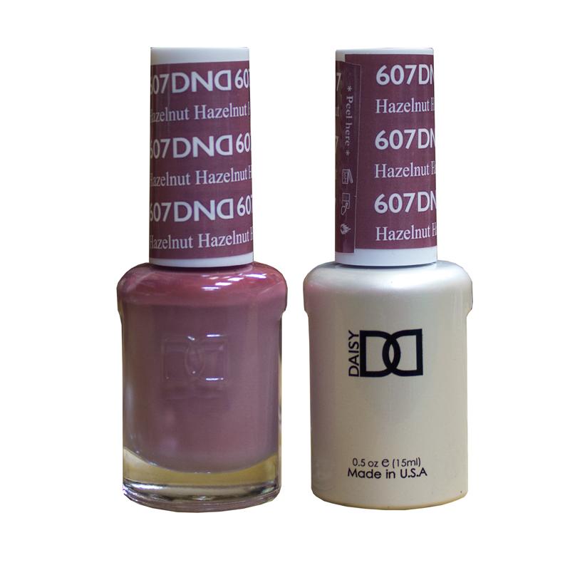 Dnd Hazelnut 607 Hollywood Nails Supply Uk