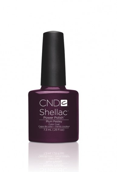 Cnd Shellac Plum Paisley Cnd Uk Distributor Now 12 Each
