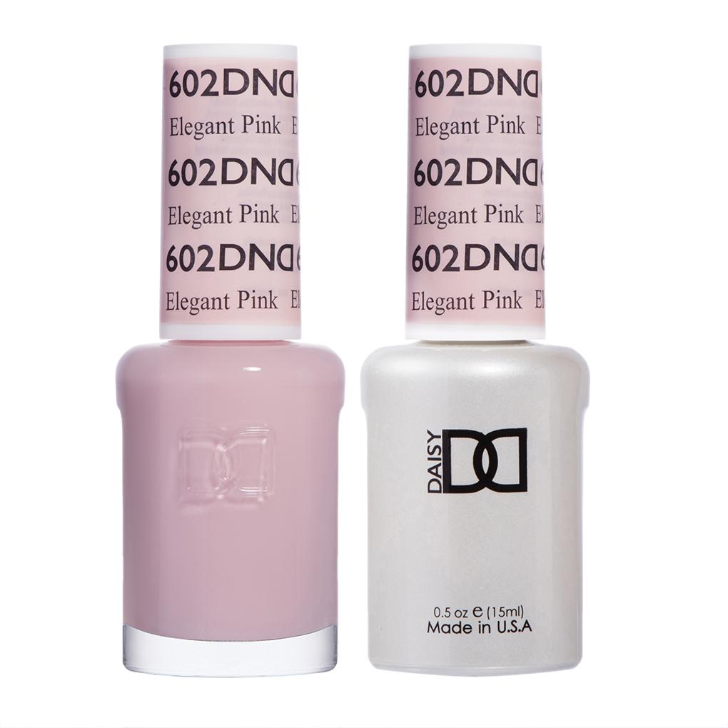 DND - Elegant Pink 602 - Hollywood Nails Supply UK