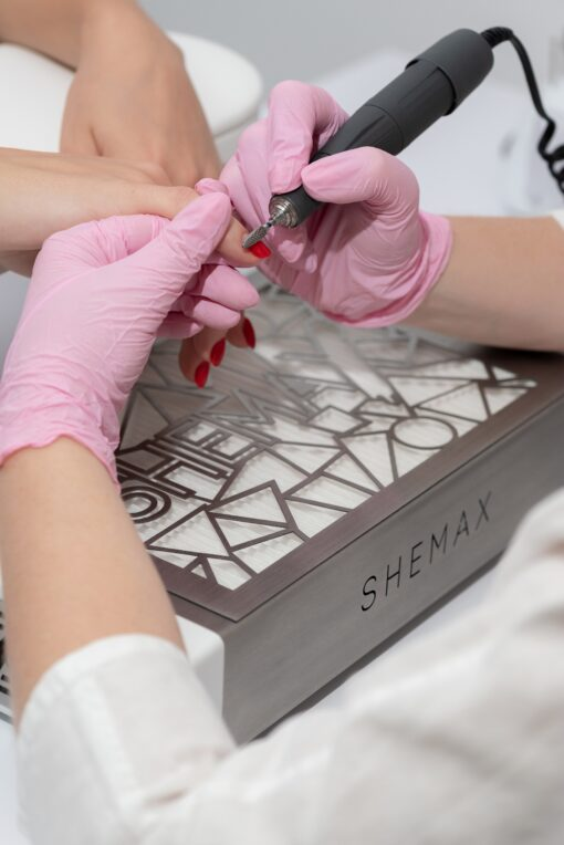 SheMax STYLE PRO Dust Collector - now available at Hollywood Nails Supply