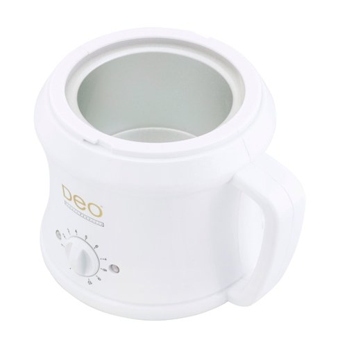 Deo 500cc White Wax Heater - Top